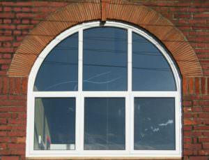 Curved windows fleet hampshire
