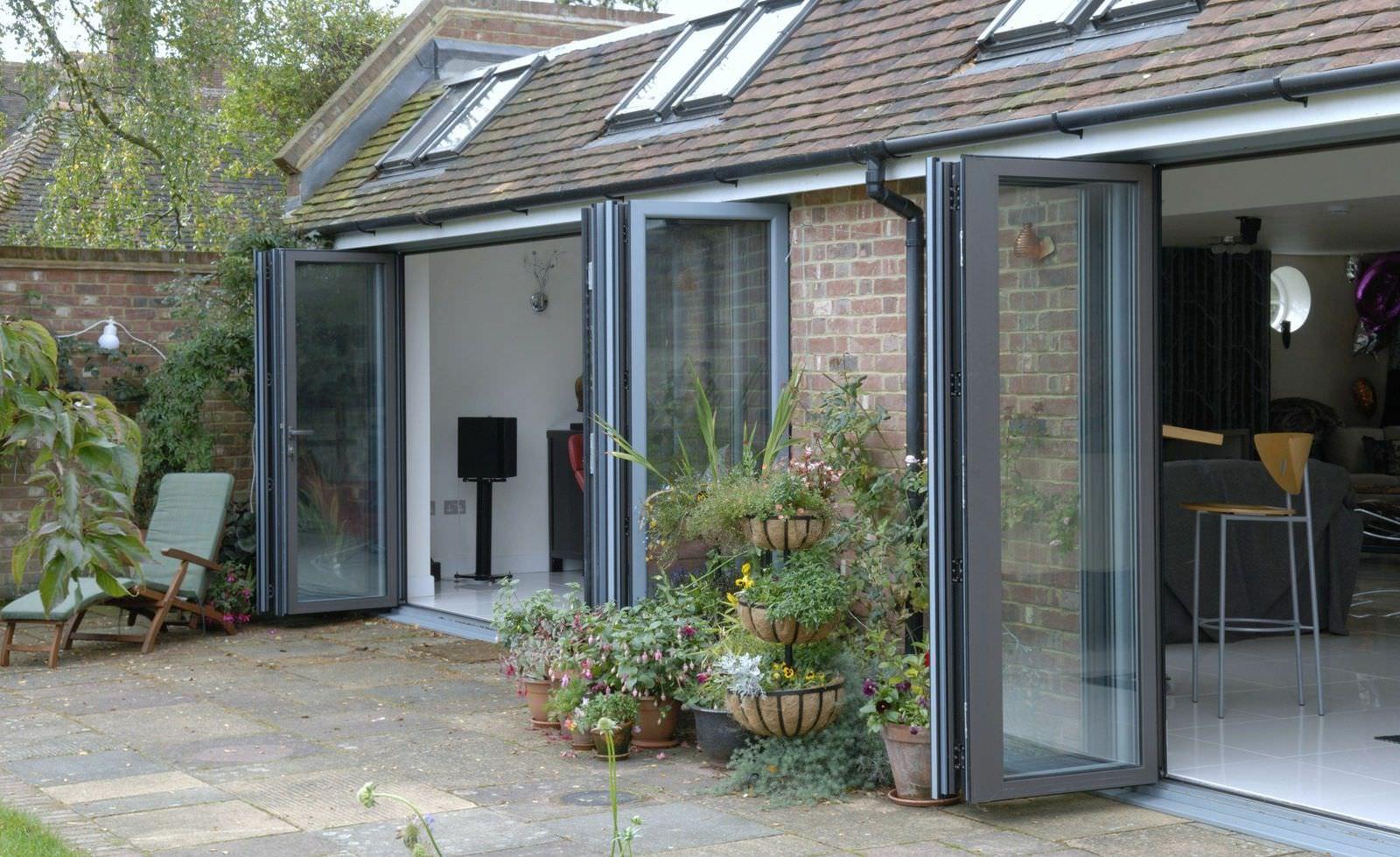 Aluminium Bi-Fold Doors Hampshire