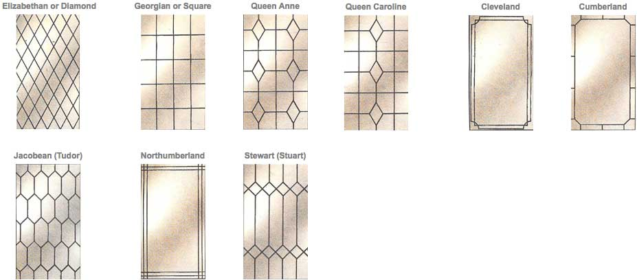 Leaded Glass Designs Hampshire