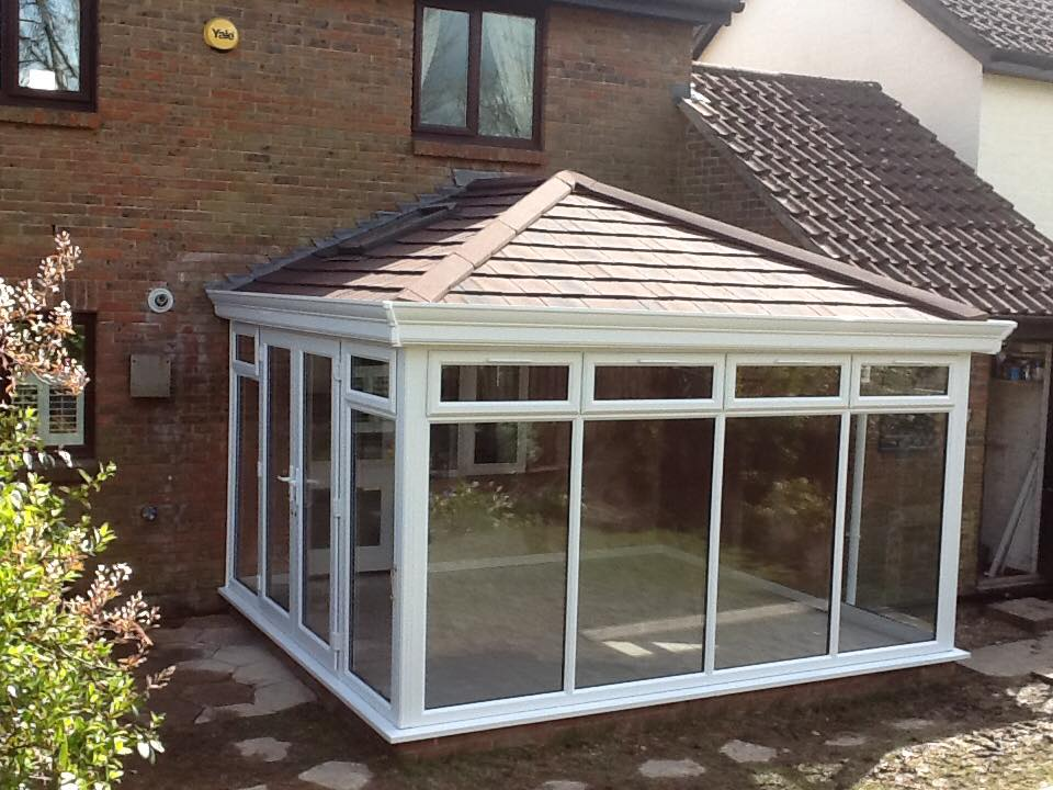 tiled conservatory roof fleet hampshire