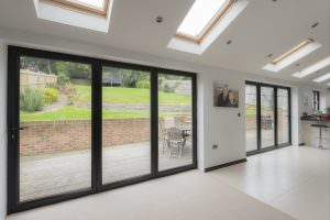 Bi-Fold Door aluminium Fleet