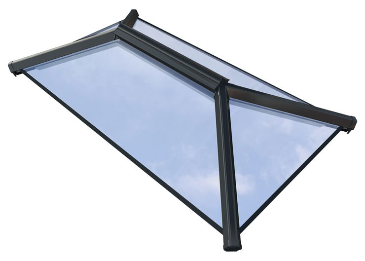 Grey Contemporary Roof Lanterns Hampshire