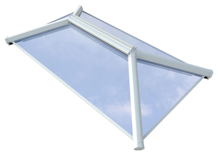 White Contemporary Roof Lanterns