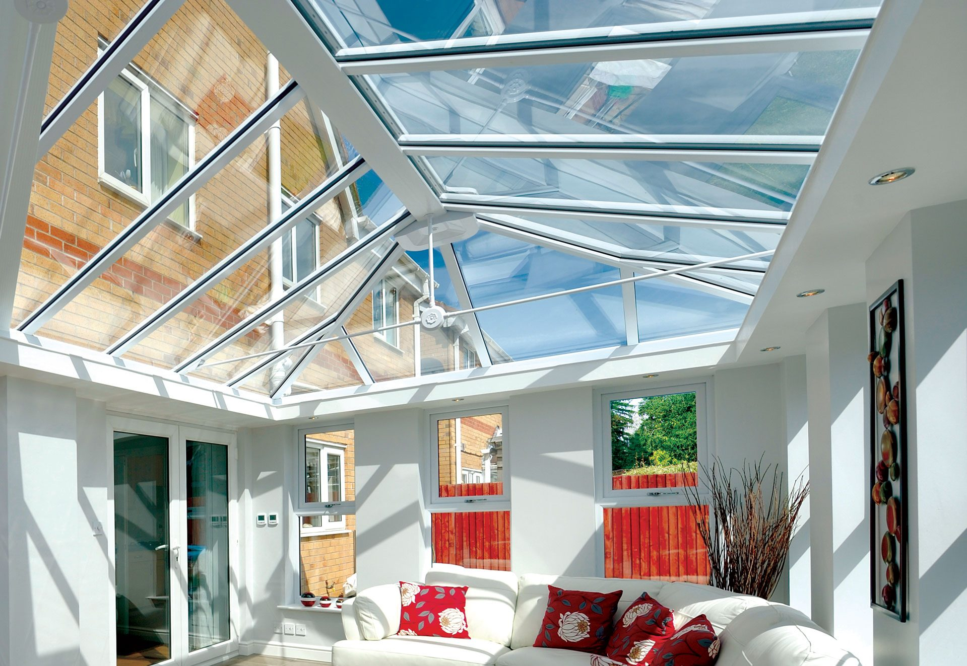 Replacement Glass Conservatory Roofs Fleet