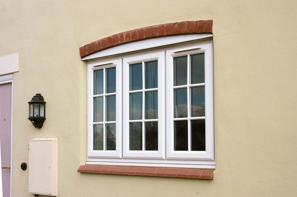 White uPVC Window Eurocell Profile