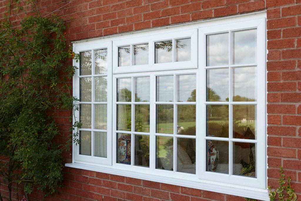 White uPVC Casement Windows Fleet Rehau