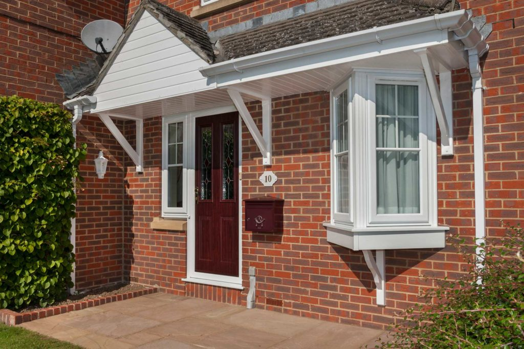 uPVC residential doors fleet